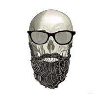 Hipster Skull I Fine Art Print