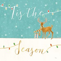 Underlined Christmas III Fine Art Print