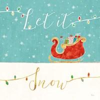 Underlined Christmas IV Fine Art Print