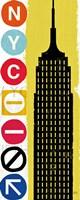 New York City Life Empire Fine Art Print