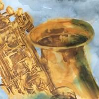 Musical Sax Fine Art Print