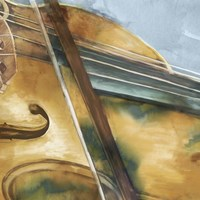 Musical Violin Fine Art Print