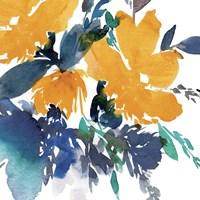 Indigo Flower I Fine Art Print
