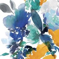 Indigo Flower II Fine Art Print