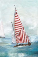 Red sails Fine Art Print