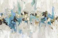 Blue Silver III Fine Art Print