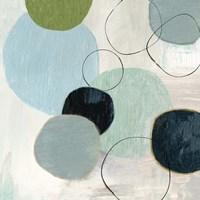Soft Circle II Framed Print