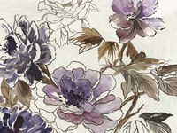 Plum Floral II Fine Art Print