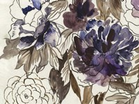 Plum Floral III Fine Art Print