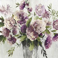 Purple Bouquet Fine Art Print