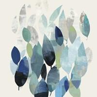 Leaf Mural I Framed Print