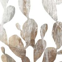 Marble Foliage II Framed Print
