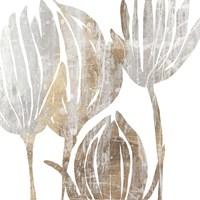 Marble Foliage III Fine Art Print