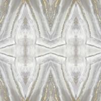 Neutral Kaleidoscope II Framed Print