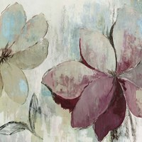 Drippy Floral II Fine Art Print