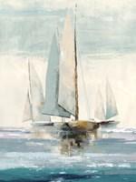 Quiet Boats I Fine Art Print
