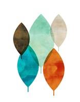 Mod Leaves I Fine Art Print