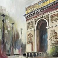 Arc De Triumph Fine Art Print