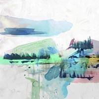 Palette Landcape II Framed Print