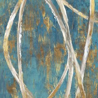Teal Abstract I Fine Art Print