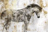 Equestrian Gold I Fine Art Print
