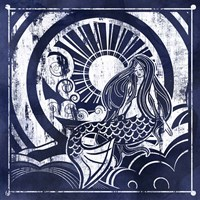 Ink Dip Mermaid Fine Art Print