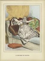 Vintage Woman B Fine Art Print