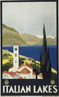 Italian Lakes Fine Art Print