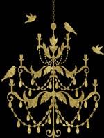 Deckled Gold I Fine Art Print
