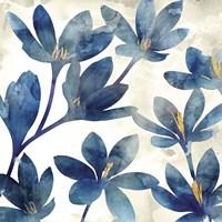 Veranda Blue I Fine Art Print