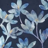 Mystique Blue I Framed Print