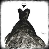 Black Dress II Fine Art Print
