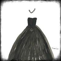 Black Dress III Fine Art Print