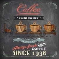 Coffee Board II Framed Print