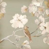 Paradise Magnolia I Framed Print