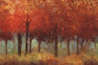 Red Forest Fine Art Print