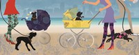 Stroller Dogs II Fine Art Print