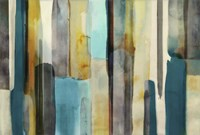 Woven in Teal Fine Art Print