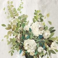 White Roses Fine Art Print