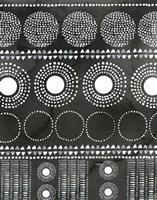 African I Black Version Framed Print