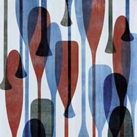 Paddles I Fine Art Print