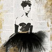 Lady in Black II Fine Art Print