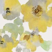 Sunny Floral I Framed Print