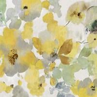 Sunny Floral II Framed Print