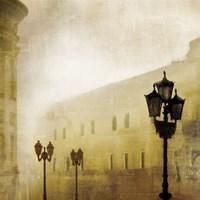 Fog Town I Fine Art Print