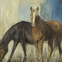 Horses II Fine Art Print