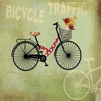 Bicycle Traffic Fine Art Print