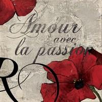 Amour Passion Fine Art Print