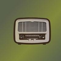 MCM Radio II Framed Print