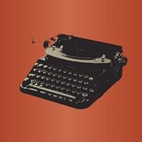 MCM Typewriter Fine Art Print